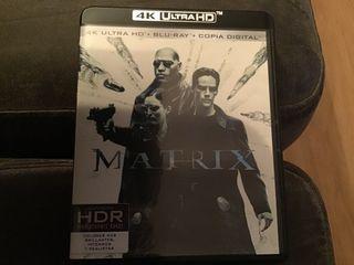 MATRIX. 4K ULTRA HD + BLURAY