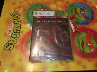 Metal Gear Solid 5 The Phantom Pain nuevo Xbox 360