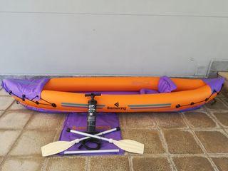 Kayak Boomerang +Bomba para inflar GRATIS