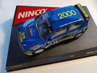 coche scalextric de Ninco Toyota Corol·la WRC RACC