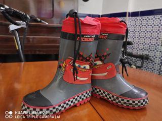 botas de agua de niños
