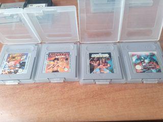 pack 5 juegos de lucha gameboy