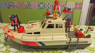 barco guardia costera playmobil
