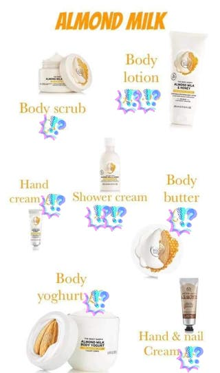 Body Shop must haves