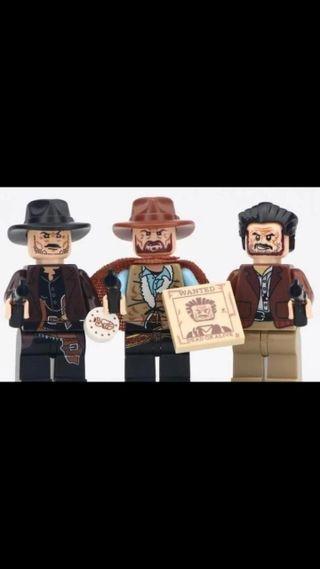 EL BUENO, EL FEO Y EL MALO (LEGO)