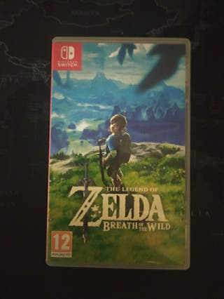 The Legend of Zelda Breath of The Wild+Funda