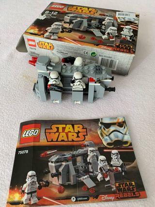 Lego nave troop transport Star Wars 75078