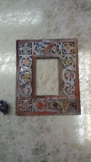 Marco imitación hierro oxidado