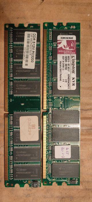 memoria RAM DDR 512
