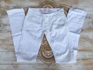 Pantalones blancos 26 nuevos