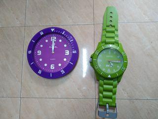relojes se pared