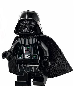 LEGO STAR WARS MINIFIGURA - DARTH VADER 636B