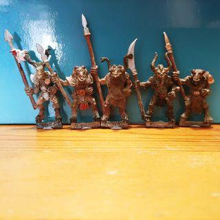 5 Hombres Bestia warhammer