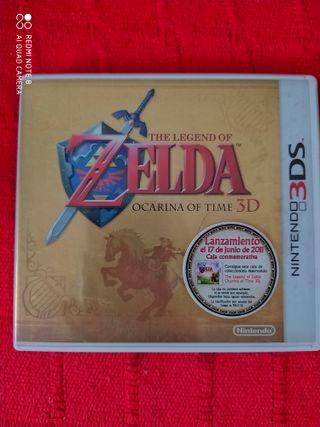 Zelda Ocarina of Time 3D Caja Conmemorativa