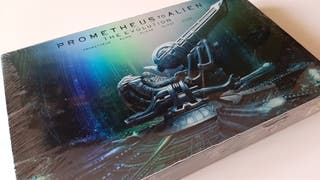 Pack Prometheus to alien (The evolution) blu-ray