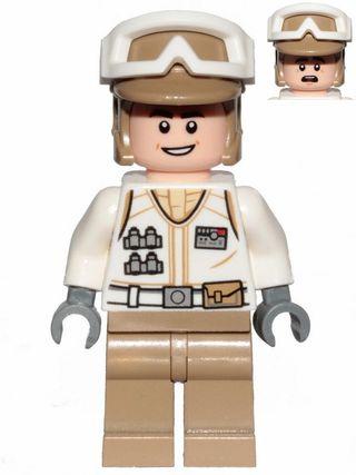LEGO STAR WARS MINIFIGURA HOTH REBEL TROOPER 1016
