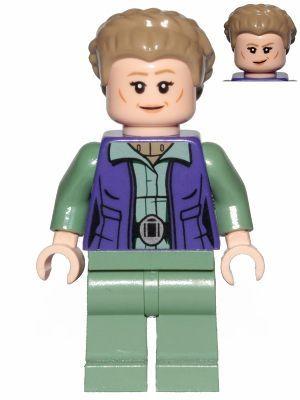 LEGO STAR WARS MINIFIGURA - GENERAL LEIA 1011