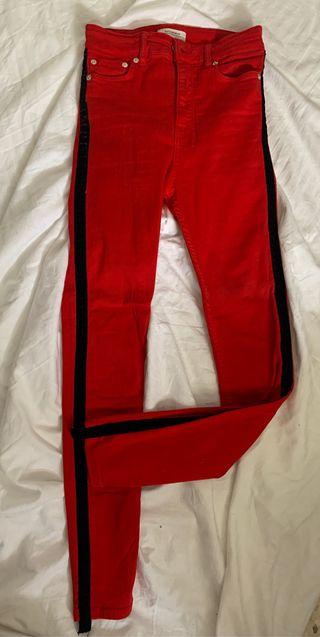 Pantalón tiro alto Zara