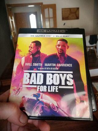 Blueray 4k Bad boys for life