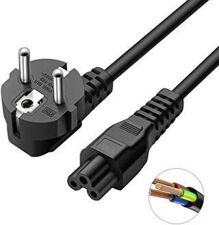Cable de Alimentación con 3 Clavijas Compatible Co