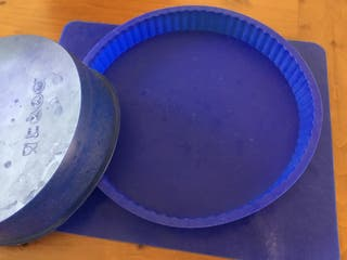 Lote de tres moldes de silicona