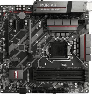 Placa Base MSI Z370M Mortar