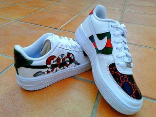 Nike AF1 x Gucci PERSONALIZADA