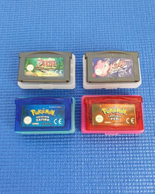 Pack juegos game boy advance