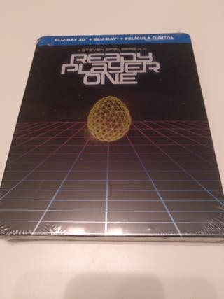 Ready player one 3D steelbook blu-ray