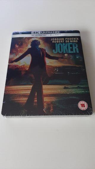 Joker 4K UHD steelbook blu-ray