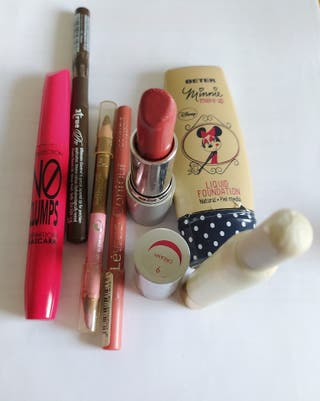 Pack Maquillaje Completo Inicial Marcas
