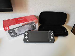 Nintendo switch lite + funda