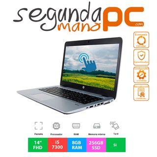 """HP EliteBook 840 G4 - 14""""FHD Táctil - Core i5-7300"""