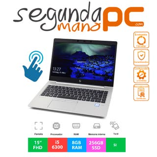 """HP EliteBook 850 G3 - 15""""FHD Táctil - Core i5-6300"""