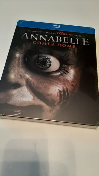 Annabelle vuelve a casa steelbook blu-ray