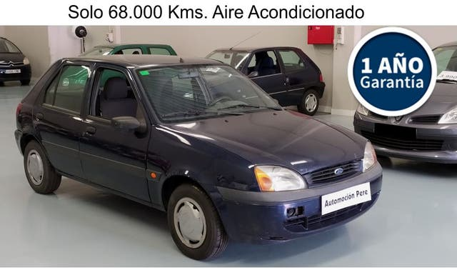 Ford Fiesta 1.3i Trend. Pocos Kms. Garantía 1 Año.