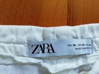 Pantalon lino ZARA
