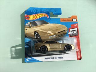 Hot wheels Porche 944 Turbo del 89 dorado