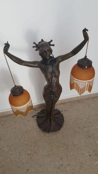 lámpara señora