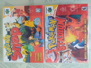 cajas videojuegos caratula, n64....