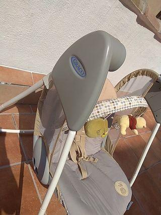 hamaca balancin bebes con movimiento