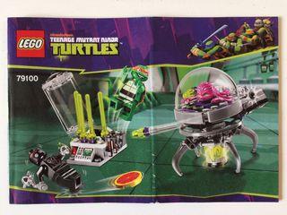 LEGO Turtles 79100 - Huída Laboratorio del Kraang