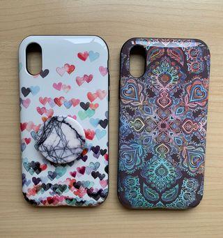 Pack carcasas iPhone X/XS