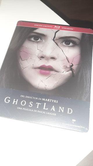 Ghostland steelbook blu-ray