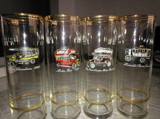 Vasos de tubo colección .