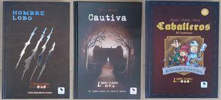 Pack Libro-juegos. Edición en español de MasQueOca