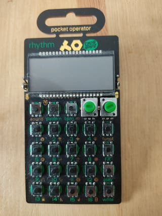 Teenage Engineering PO-12 (drum machine portable)