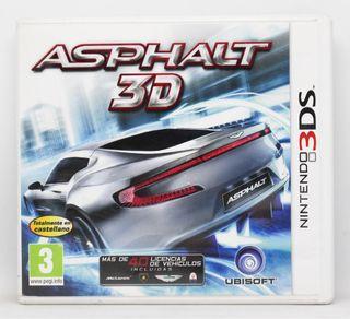 Asphalt 3D Nintendo 3DS PAL España
