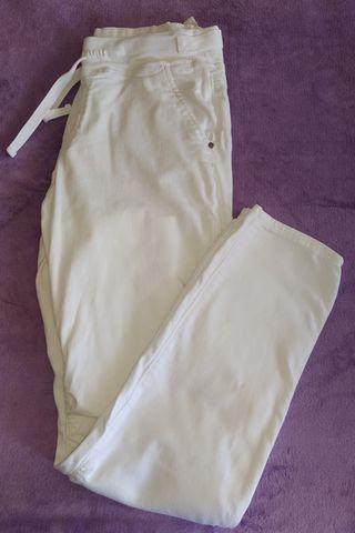 Pantalón blanco primavera T42