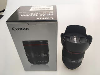 Objetivo Canon F4 L IS USM 24-105 mm